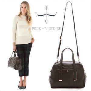 Pour La Victoire Tate Convertible Leather Satchel